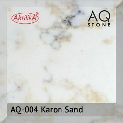 Кварцевый камень Akrilika AQ Stone, цвет AQ-004 Karon Sand