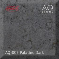 Кварцевый камень Akrilika AQ Stone, цвет AQ-005 Palatino Dark