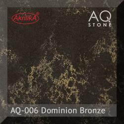 Кварцевый камень Akrilika AQ Stone, цвет AQ-006 Dominion Bronze