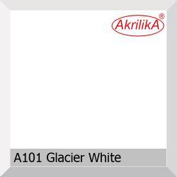 Искусственный камень Akrilika Stone 12мм A101 Glacier Wite