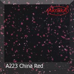 Искусственный камень Akrilika Stone 12мм A223 China Red