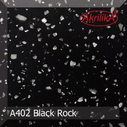 Искусственный камень Akrilika Stone 12мм A402 Black Rock
