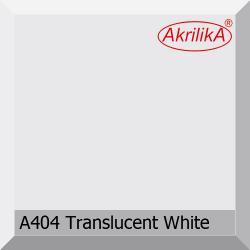 Искусственный камень Akrilika Stone A404 Translucent White