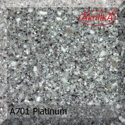 Искусственный камень Akrilika Stone 12мм A701 Platinum
