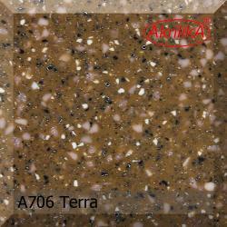 Искусственный камень Akrilika Stone 12мм A706 Terra