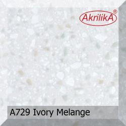 Искусственный камень Akrilika Stone 12мм A729 Ivory Melange