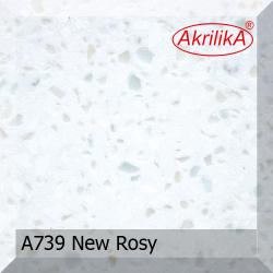 Искусственный камень Akrilika Stone 12мм A739 New Rosy