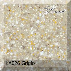 Искусственный камень Akrilika Kristall KA026 Grigio