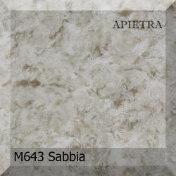 Искусственный камень Akrilika Apietra M643 Sabbia